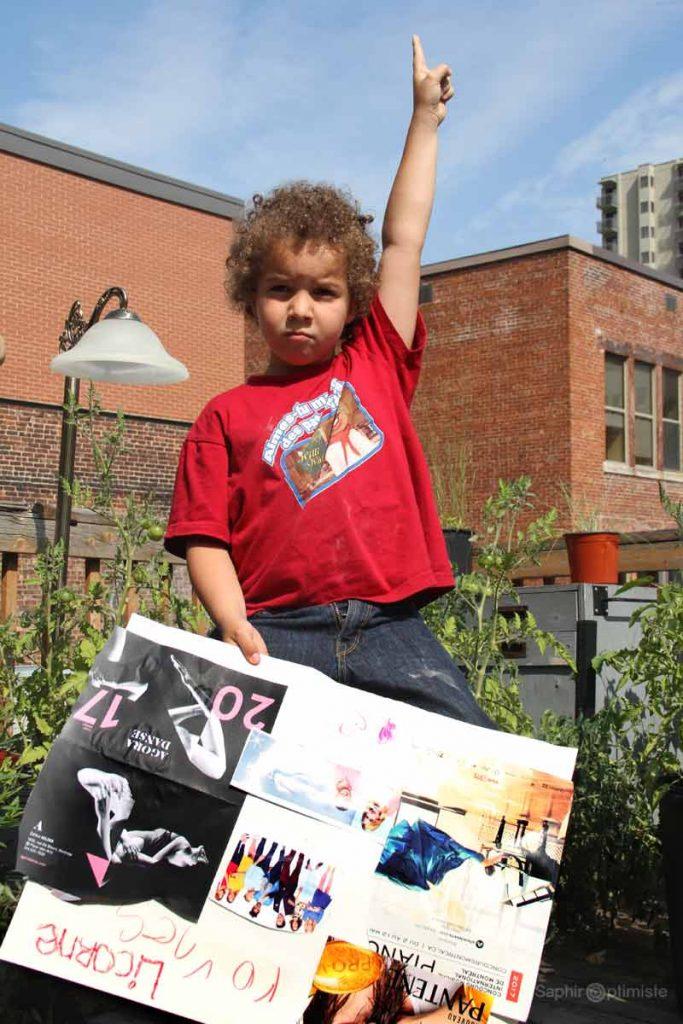 visioptimiste-saphir optimiste-tableau de reves - tableau de vision-vision board for kids - enfants -red -rouge