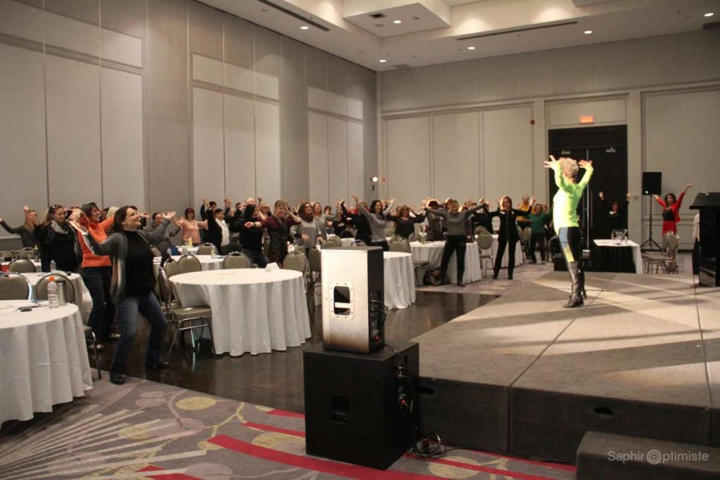 show-johanne-fontaine-conference-photoptimiste-saphir-optimiste-vert